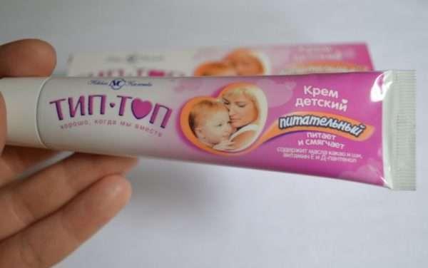 Какие крема у ребенка от сыпи