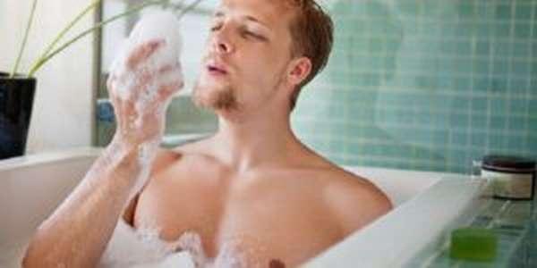 Горячая ванна помогает расслабиться и достичь гармонии
