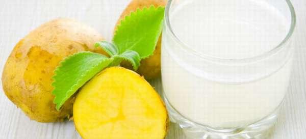Правила приема сырого картофельного сока при панкреатите: польза, рецепты и доза