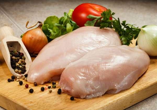 диетическое мясо и овощи