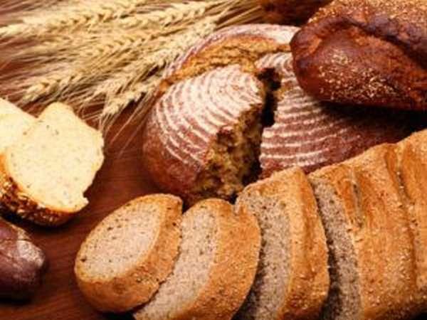 Различные сорта хлеба