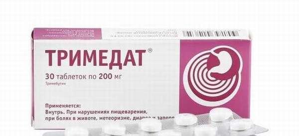 Особенности применения таблеток Тримедат при воспалении поджелудочной железы