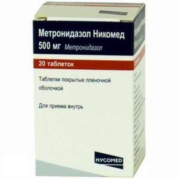 Препарат Метронидазол Никомед