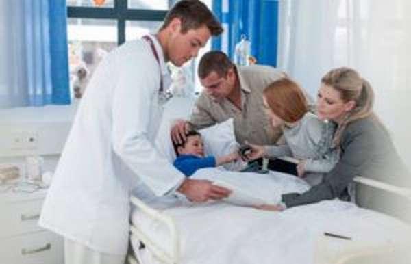 Диагностика заболевания у ребенка
