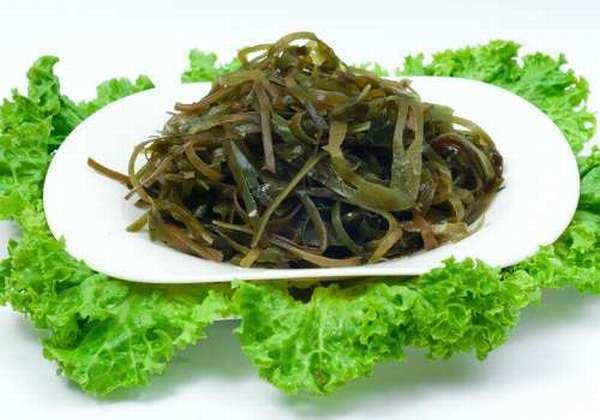 приготовленные морские водоросли