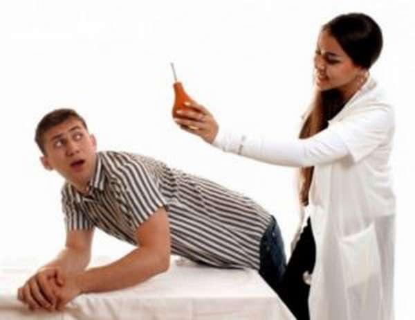 Очищение кишечника перед массажем простаты