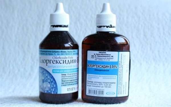 Использование хлоргексидина при различных проявлениях герпесвируса