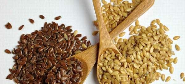 Применение семя льна при лечении панкреатита