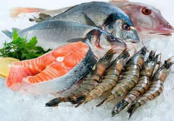 охлажденные морепродукты