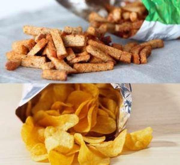 Сухарики и чипсы