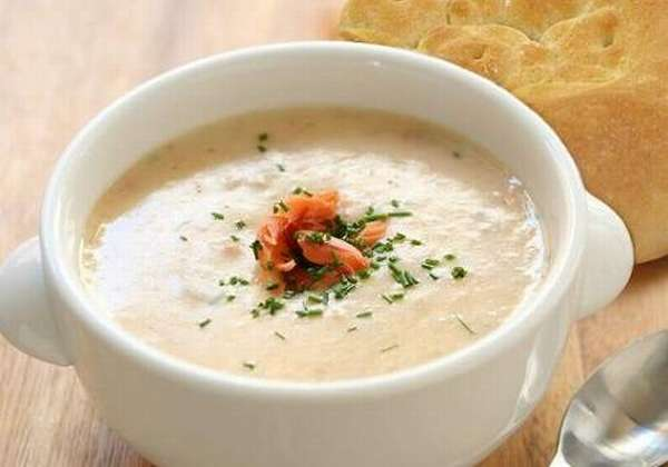 рыбный крем-суп