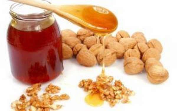 мед и орехи