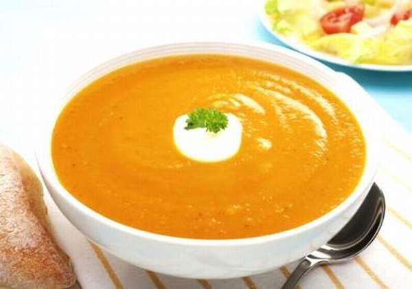 крем-суп овощной