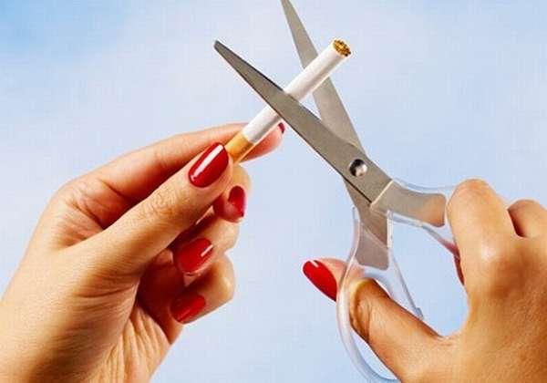 Резать сигарету ножницами
