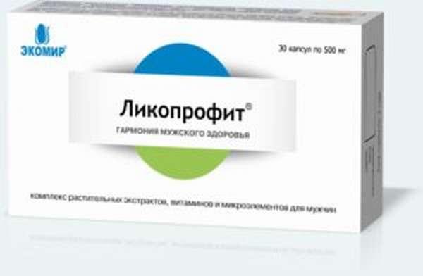 Препарат Ликопрофит Потенциал для улучшения эрекции: инструкция по применению и совместимость с алкоголем