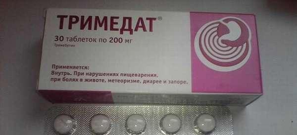 С какими препаратами можно совместно принимать Тримедат?