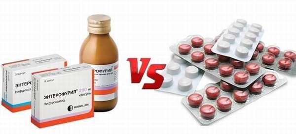 Чем можно заменить Энтерофурил: список аналогов препарата