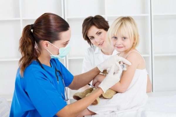 Что будет если намочить прививку от кори