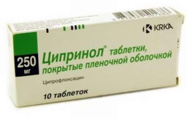 таблетки ципринол