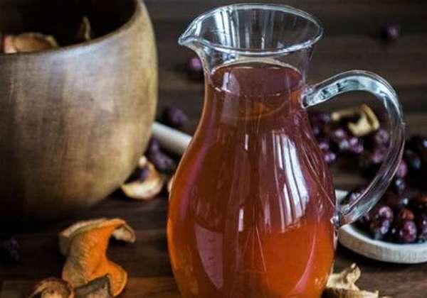 напиток из сушеных яблок